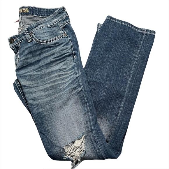 BKE Stella Boot Jeans Blue Size 28 x 33 1/2